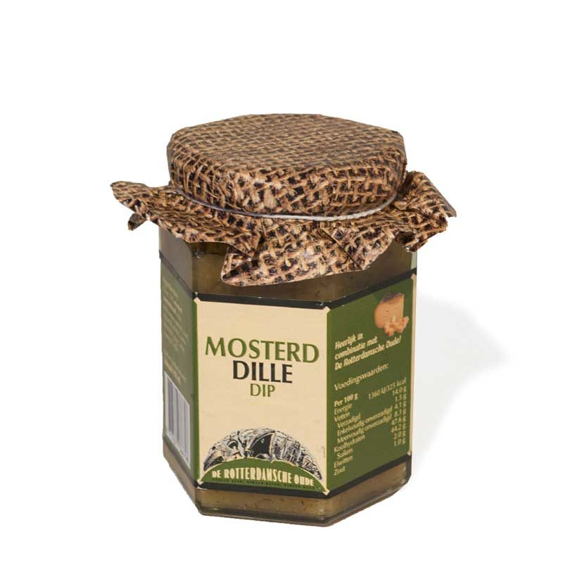 De Rotterdamsche oude dippie honing mosterd