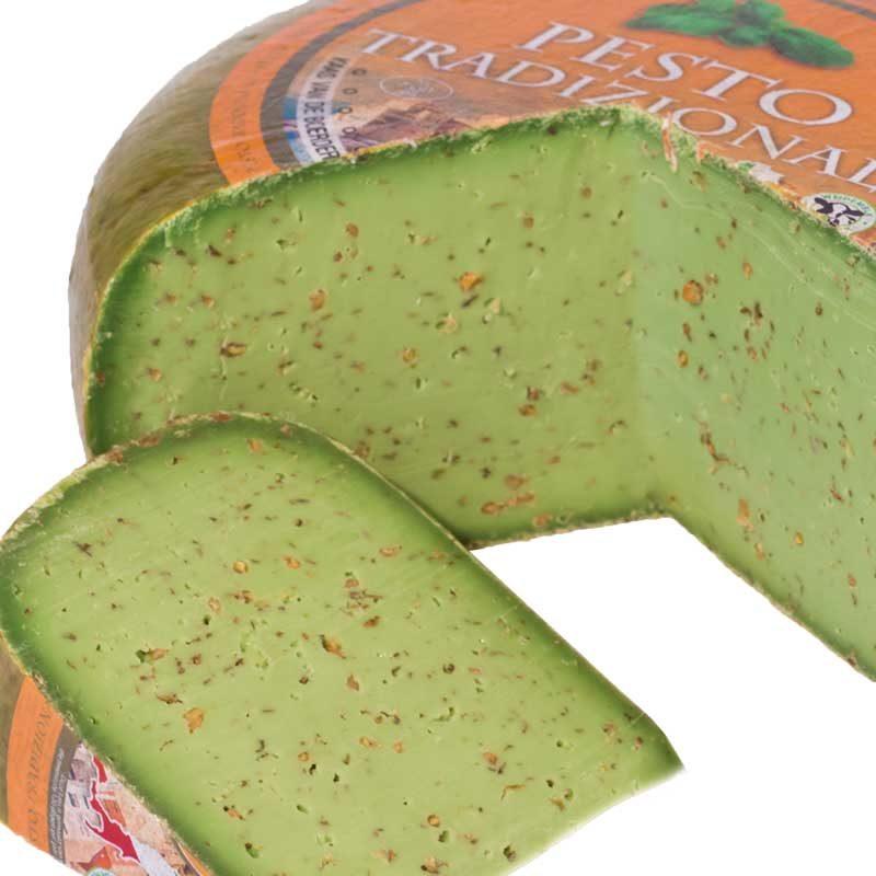 Groene pesto kruidenkaas goudse 48+