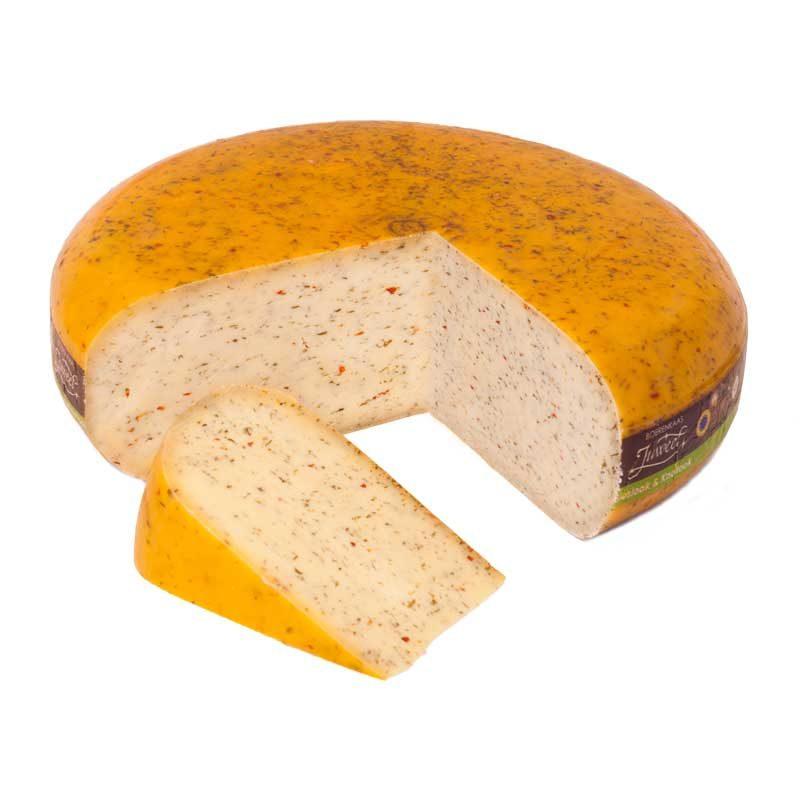 Kruidenkaas bieslook knoflook boeren goudse kaas 48+