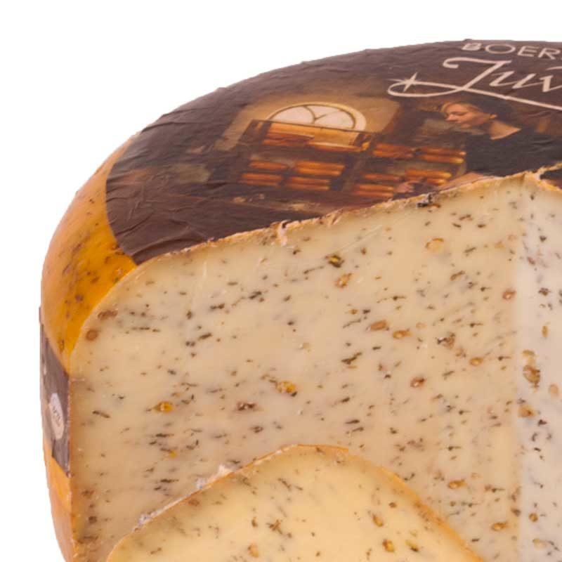 Kruidenkaas pesto pijnboompit boeren goudse kaas 48+