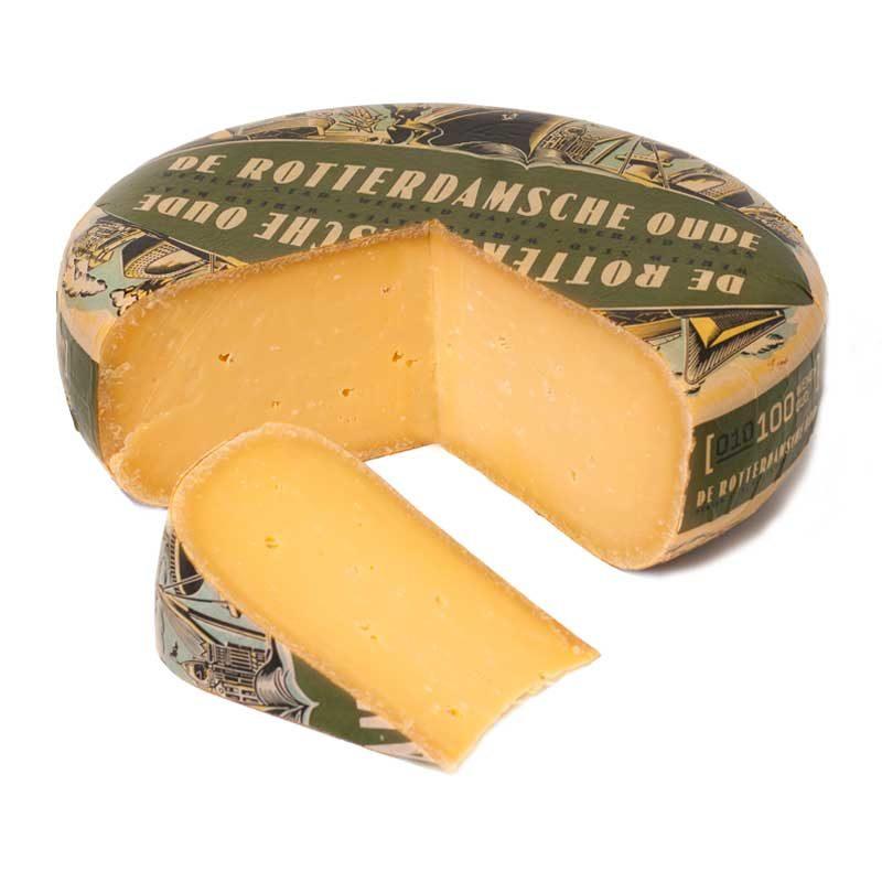 Overjarige Brokkel 100wk De Rotterdamsche Oude Goudse kaas 48+